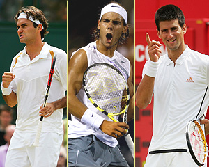 Federer-Nadal-Djokovic